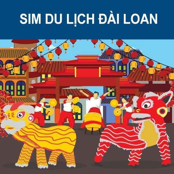 sim 3G/4G Đài Loan