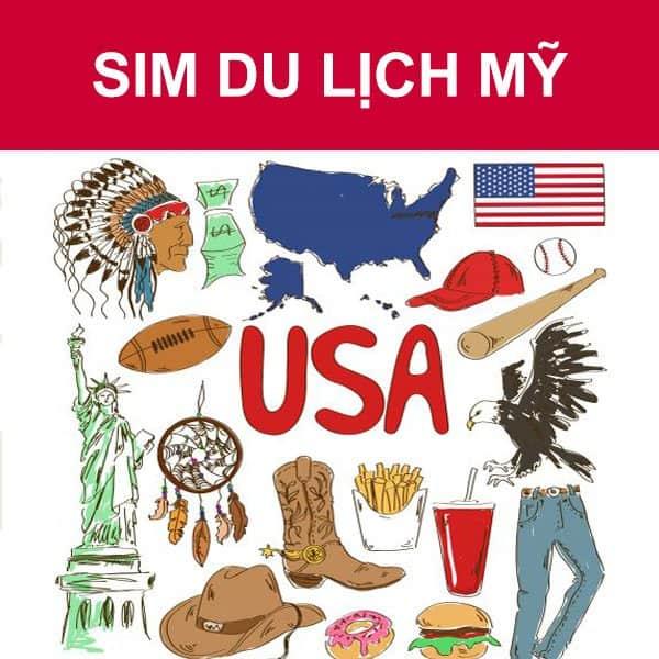 muasim du lịch Mỹ