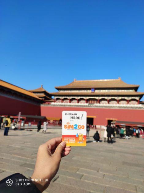 China Travel Sim feedback